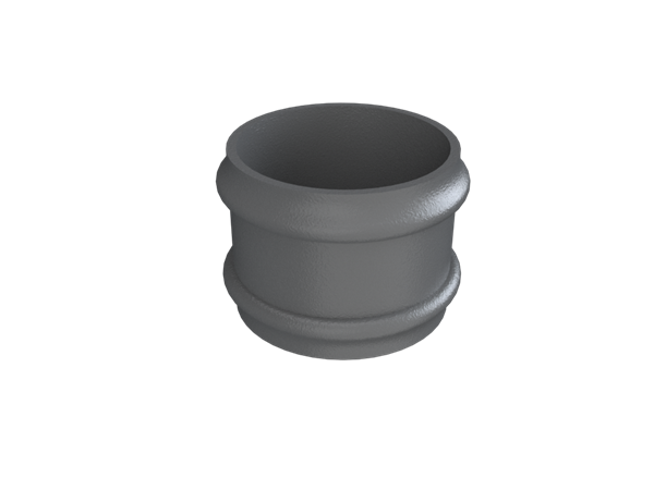 """3"""" Round Rainwater Loose Socket Without Ears"""