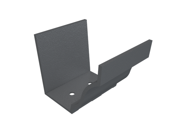 """5""""x4"""" Moulded Ogee Gutter Union"""