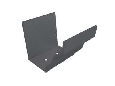 """6""""x4"""" Moulded Ogee Gutter Union"""