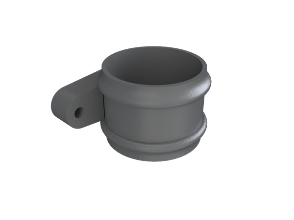 """4"""" Round Rainwater Loose Socket With Ears"""
